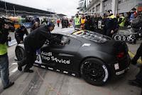 audi motorsport 100514 1369 Audi R8 LMS Dominates the Nürburgring Takes First Four Grid Positions for 24 Hour Race Photos