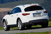 Infiniti FX30d 6 Infiniti Confirms UK Pricing for its First Diesel Model, the FX30d Photos