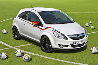 Opel Corsa Footbal Edition 1 Opel Releases Corsa Football Championship Edition Dedicated to the German National Team