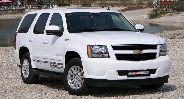 Geiger Tri Mode Chevy Tahoe 0 Geiger Goes Tri Mode on Chevys Tahoe Hybrid with LPG Conversion
