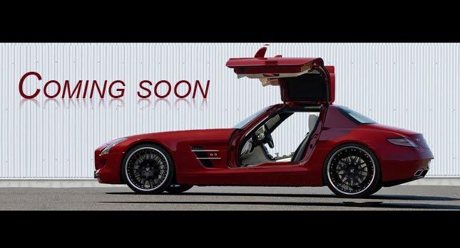 Hamann SLS 0 Hamann Teases Mercedes Benz SLS AMG Gullwing Proposal