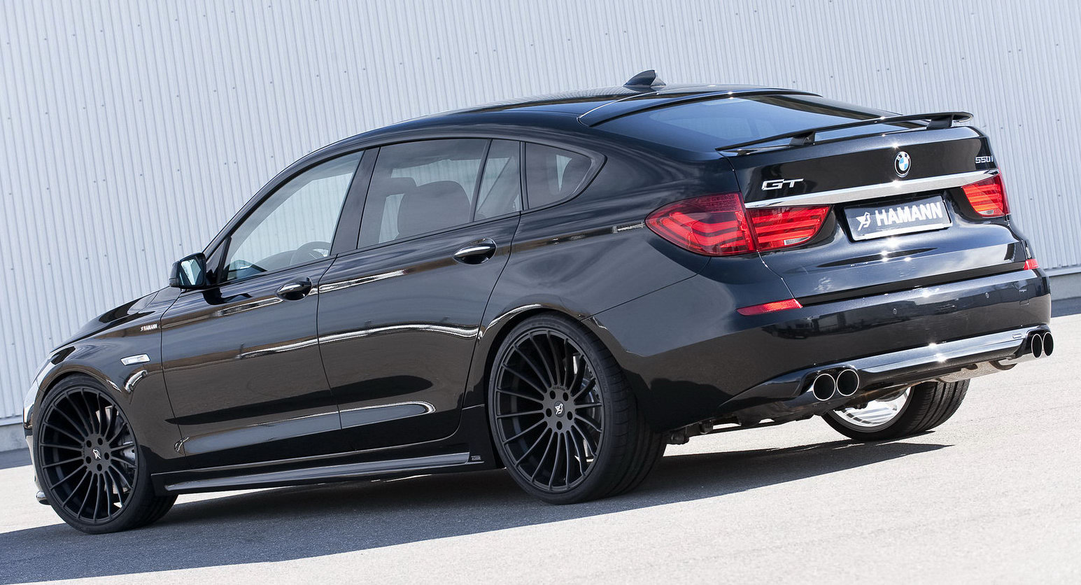 hamann motorsports reinterprets the bmw 530d gt carscoops. Black Bedroom Furniture Sets. Home Design Ideas