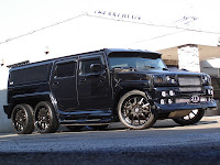 Hummer H2 Ultimate Six 6 Japans 213 Motoring Builds the Ultimate Six Hummer H2