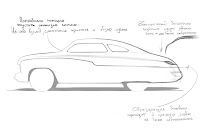 Russian Mercury Coupe 21 Stallones Mercury Coupe from Cobra Movie Inspires Porsche Cayenne Based Build in Russia