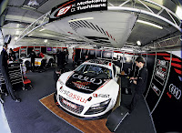 Audi Motorsport 6 Seven Audi R8 LMS Racers to Compete in 24 Hours of Nürburgring Photos