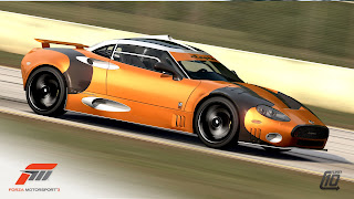 Spyker Forza 3 1 Spyker C8 Laviolette LM85 Available on Forza Motorsport 3 / Xbox 360 Photos