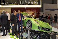 Ferrair 599 GTB Fiorano Hybrid Study 7 Ferrari Goes from Red to Green Plans to Offer Hybrid Option on all Models Photos