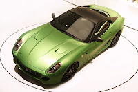 Ferrair 599 GTB Fiorano Hybrid Study 10 Ferrari Goes from Red to Green Plans to Offer Hybrid Option on all Models Photos