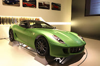 Ferrair 599 GTB Fiorano Hybrid Study 11 Ferrari Goes from Red to Green Plans to Offer Hybrid Option on all Models Photos