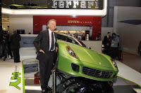Ferrair 599 GTB Fiorano Hybrid Study 16 Ferrari Goes from Red to Green Plans to Offer Hybrid Option on all Models Photos
