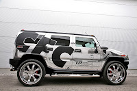 CFC Hummer Crome %285%29 CFC Proves Theres No Limit to Bad Taste with Chromed Out Hummer H2   Photos