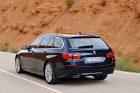 2011 BMW 5 Series Touring 13 BMW Officially Reveals the 5 Series Touring [60 High Res Photos]