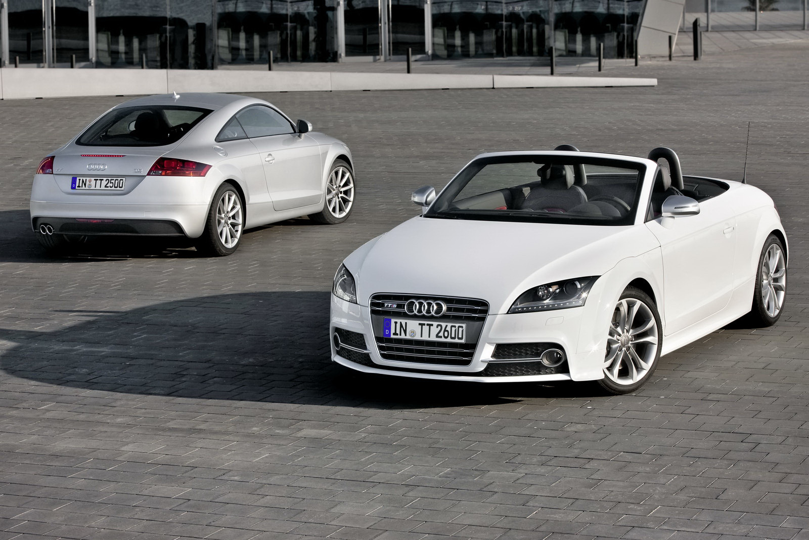 2011 Audi Tt Coupe And Roadster Range Facelifted New