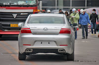 Huatai B21 16 Bentley Snout Part II: Huatais New B11 and B21 Sedan Snapped Ahead of Beijing Show