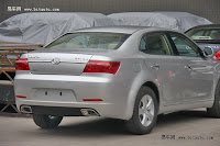 Huatai B21 17 Bentley Snout Part II: Huatais New B11 and B21 Sedan Snapped Ahead of Beijing Show