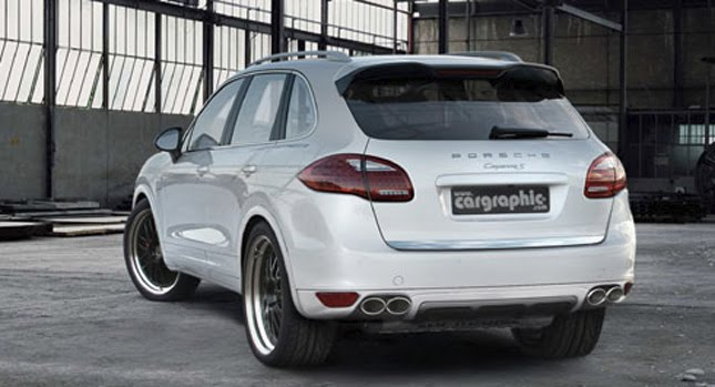 Porsche Cayenne Cargraphic 1 Cargraphic Readying Tuning Package for New Porsche Cayenne II