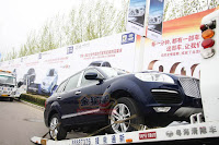 Huatai B35 Cayenne 4 Only in China: A Porsche Cayenne Clone with a Bentley Snout by Huatai