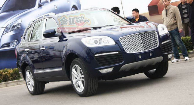 Huatai B35 Cayenne 0 Only in China: A Porsche Cayenne Clone with a Bentley Snout by Huatai