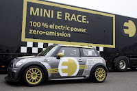 MINI E RACE Ring 3 VIDEO: All Electric MINI E Laps the Nurburgring Circuit in Under 10 Minutes