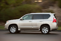 2010 Lexus GX 460 016 Consumer Reports Labels 2010 Lexus GX 460 as a Safety Risk