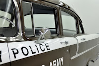 1957 Chevrolet Police Car 16 Copped out: 1957 Chevy Military Police Car for Sale