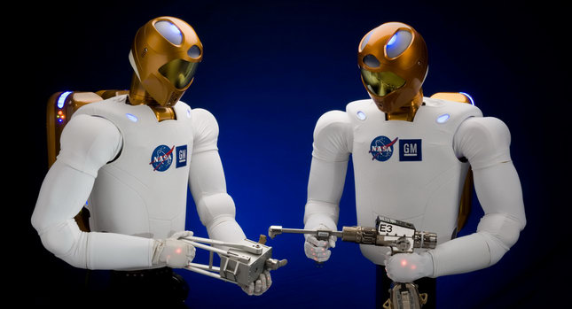 NASA GM Robonaut 00 GM Teams up with NASA to Create Robonaut R2 for International Space Station