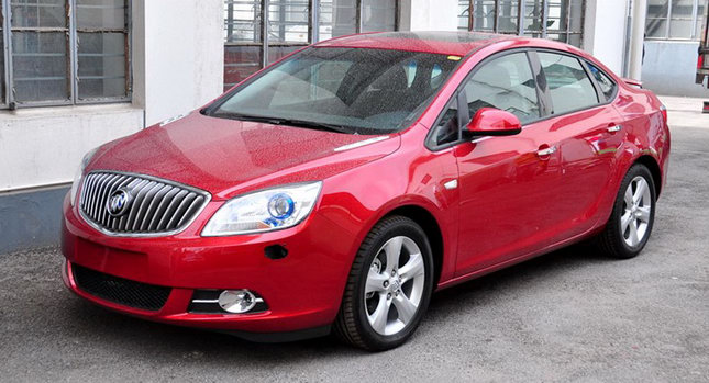 2011 Buick Excelle 00 New Buick Excelle Compact Sedan Scooped Totally Undisguised
