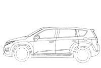 Chevrolet Volt Minivan 4 GM Readying Chevrolet Volt esque Extended Range Electric Minivan? Official Patent Designs