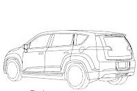 Chevrolet Volt Minivan 5 GM Readying Chevrolet Volt esque Extended Range Electric Minivan? Official Patent Designs
