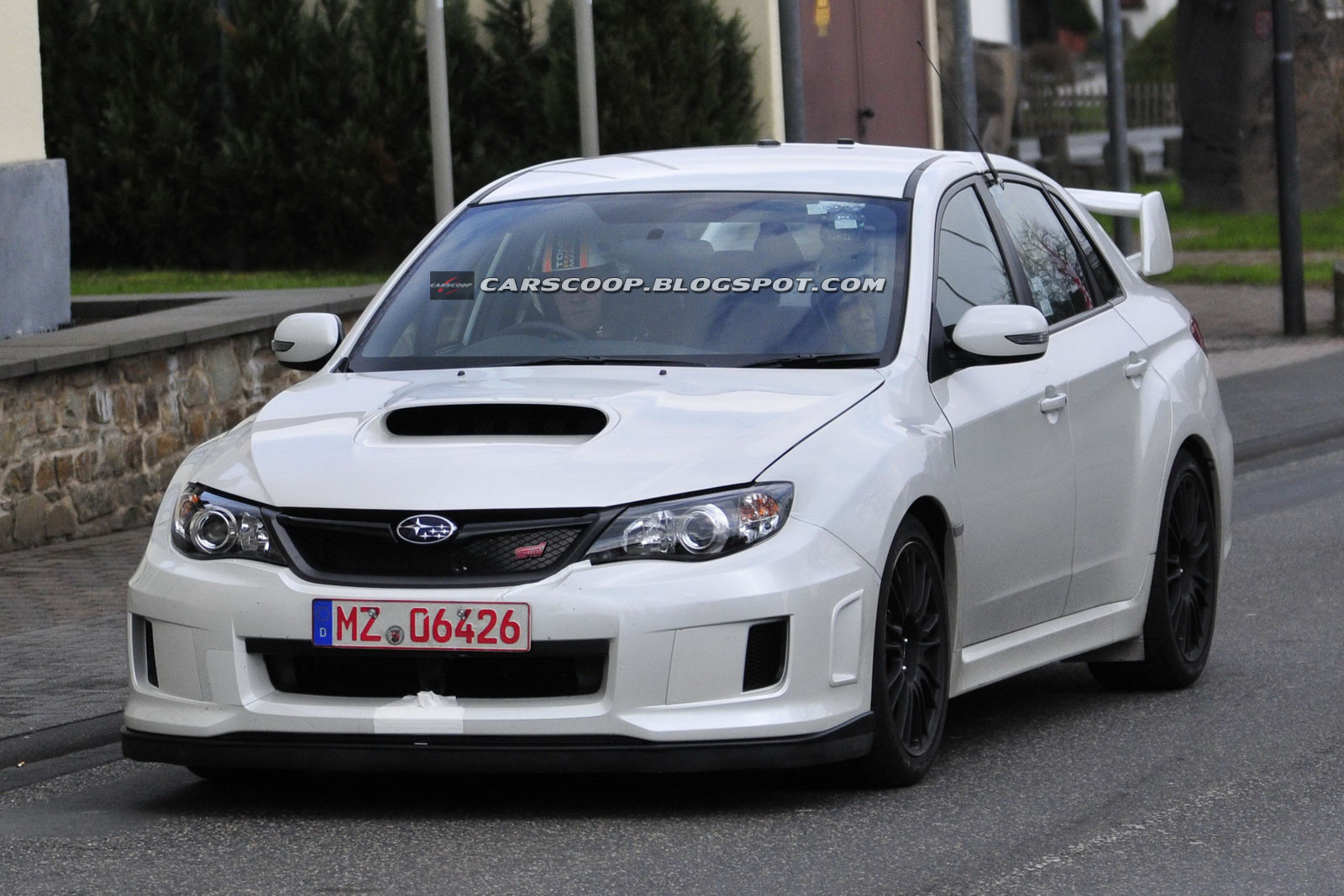 pics of a fabled spec C version of the new wide body 2011 Subie STI