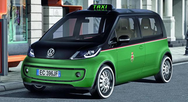 VW Milano Taxi EV 001 Volkswagen Unveils Milano Taxi EV Concept at Hanover Trade Show