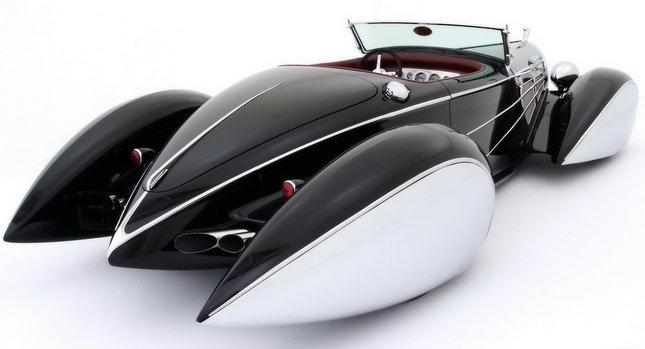 Delahaye Bugnotti Type 57S Roadster 001 Bound for Gotham City: Bugatti and Delahaye Hybrid Bugnotti Type 57S Roadster