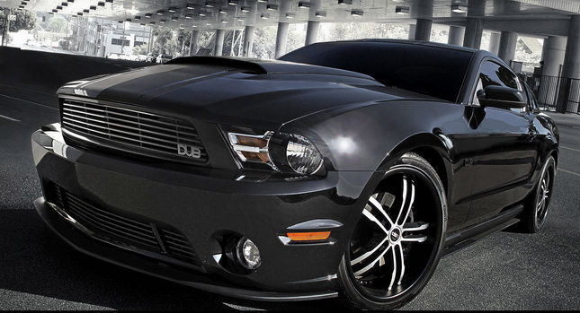 Mustang DUB Edition 0 Rollin on DUBs: Ford Introduces DUB Edition of 2011 Mustang