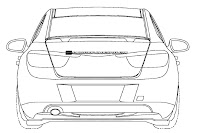 2012 Buick Excelle 5 U.S. Patent Drawings of 2012 Buick Excelle Sedan