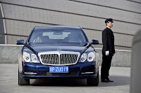 2011 Maybach 7 Beijing Auto Show: Maybachs Face lifted Offerings