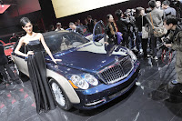2011 Maybach 17 Beijing Auto Show: Maybachs Face lifted Offerings