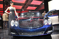 2011 Maybach 18 Beijing Auto Show: Maybachs Face lifted Offerings