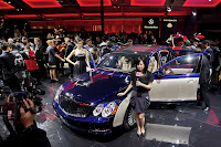 2011 Maybach 34 Beijing Auto Show: Maybachs Face lifted Offerings