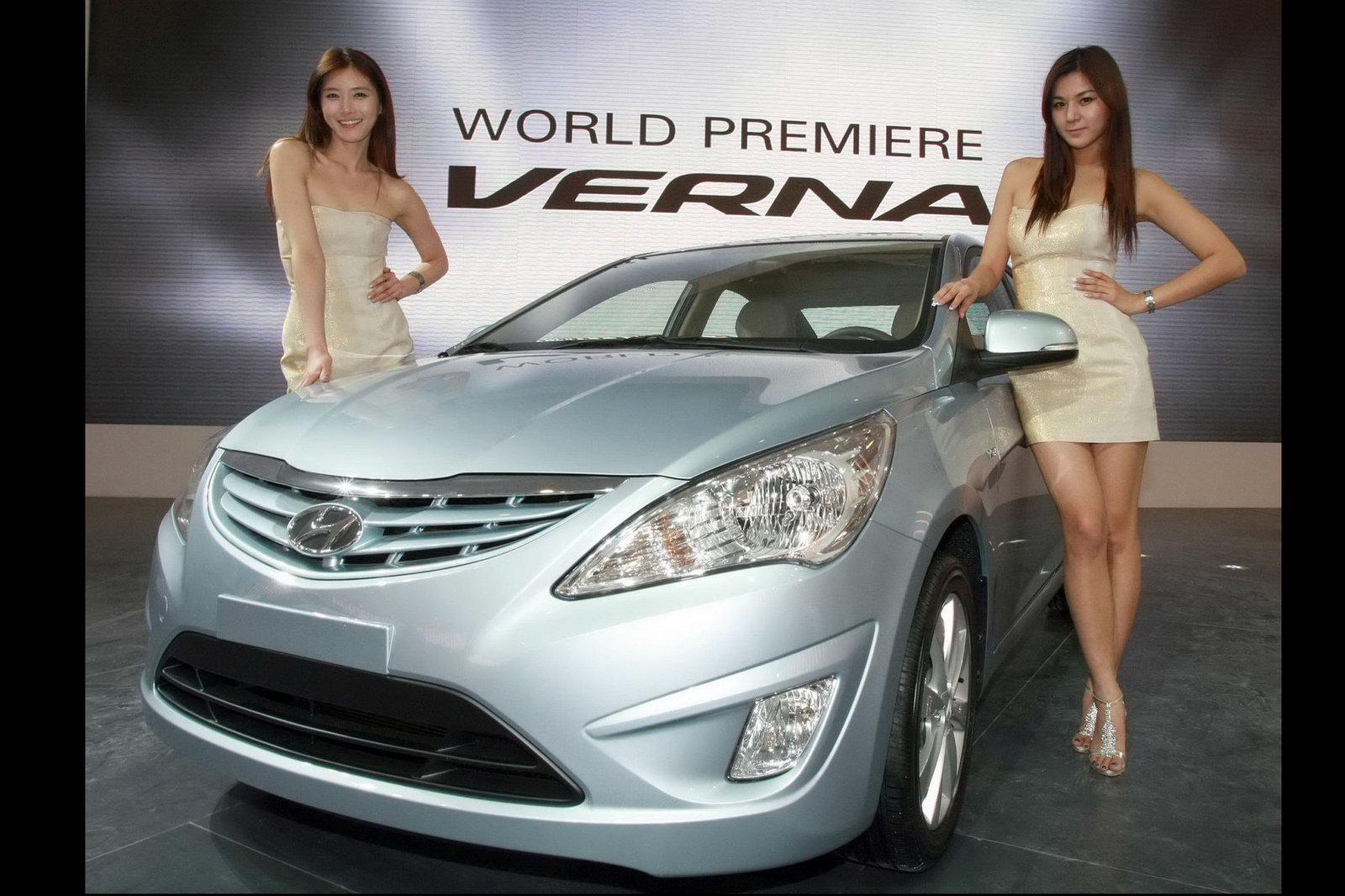 Used Hyundai Sonata >> New Hyundai Accent (Verna): Mini-Me Sonata Debuts at ...