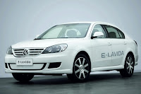 Volkswagen Presents E Lavida Study at Beijing Show
