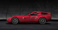 Zagato Alfa TZ3 Corsa 13 Zagato Alfa Romeo TZ3 Corsa Official Specs and Photo Gallery from Villa DEste Photos