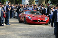 Zagato Alfa TZ3 Corsa 27 Zagato Alfa Romeo TZ3 Corsa Official Specs and Photo Gallery from Villa DEste Photos