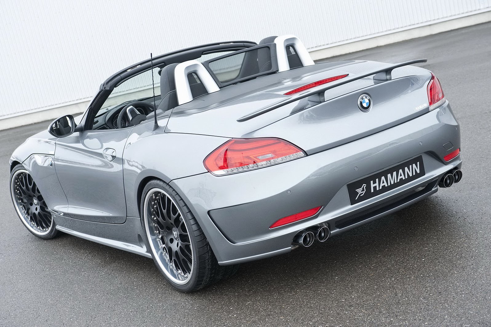 hamann builds a bmw z4 m roadster e89. Black Bedroom Furniture Sets. Home Design Ideas
