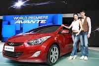 2011 Hyundai Elantra / Avante interior