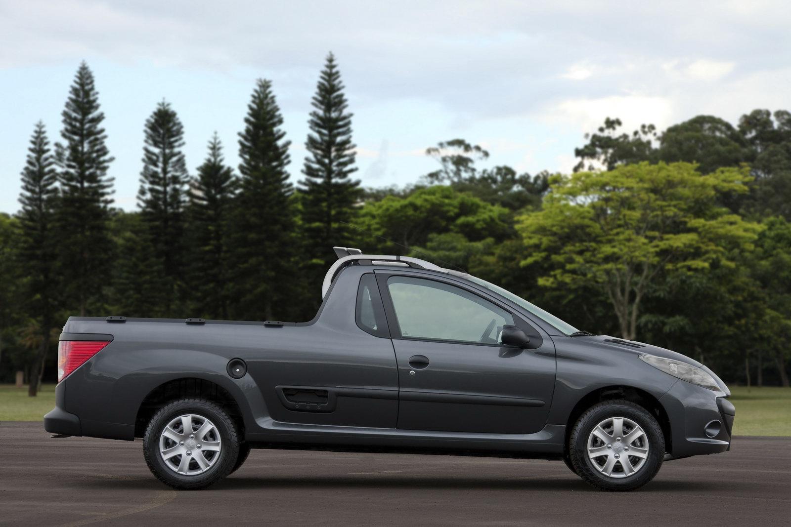 peugeot hoggar pickup truck version of 207 fully revealed carscoops. Black Bedroom Furniture Sets. Home Design Ideas
