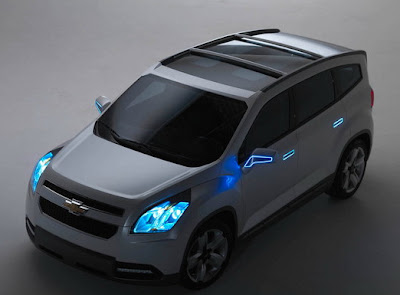 chevrolet orlando minivan concept photo gallery. Black Bedroom Furniture Sets. Home Design Ideas