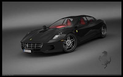 Ferrari Four-Door Coupe Study