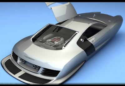 Audi R8 Catamaran
