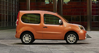 new renault kangoo be bop with convertible top carscoops. Black Bedroom Furniture Sets. Home Design Ideas
