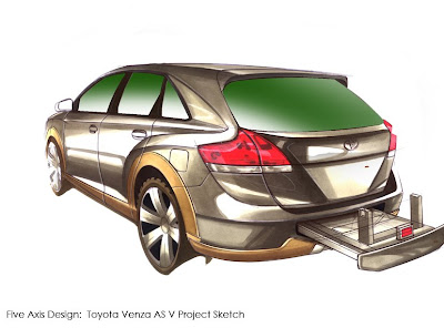 Toyota Venza SEMA Tuning Bodykit